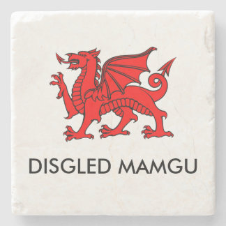 Disgled Mamgu: Grandma's Cuppa South Welsh Coaster