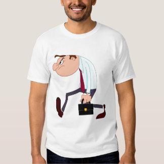 Disgruntled businessman shirt