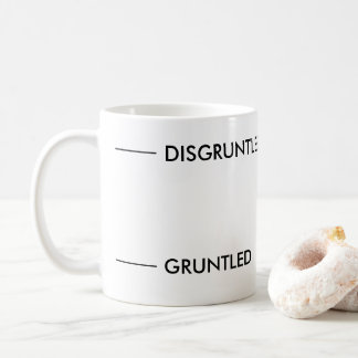 Disgruntled Funny Coffee Mug
