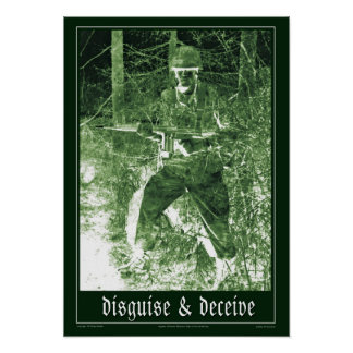 disguise and deceive poster