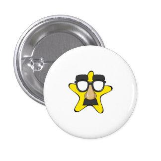 Disguise Star Cartoon Pins