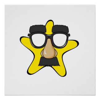 Disguise Star Cartoon Posters