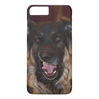 Disgusted German Shepherd, IPhone 7 plus Case