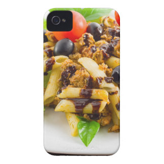 Dish of Italian pasta rigatoni with bolognese Case-Mate iPhone 4 Cases