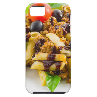 Dish of Italian pasta rigatoni with bolognese iPhone 5 Cover