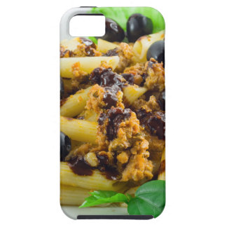 Dish of Italian pasta with bolognese sauce iPhone 5 Case