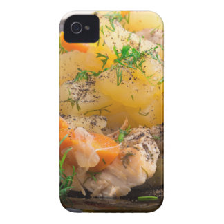 Dish of stewed potatoes with chicken and spices Case-Mate iPhone 4 case