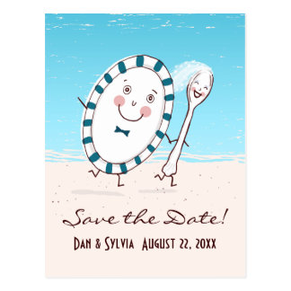 Dish & Spoon Save the Date Postcard