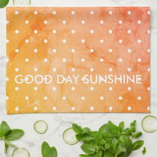 Dish_Towel's_Good Day Sunshine-Dots- Kitchen Towel