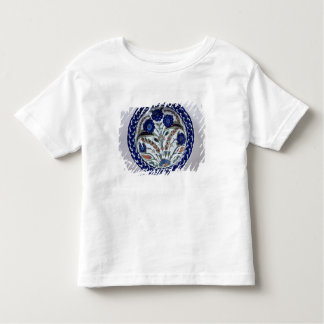 Dish with a floral decoration, Iznik Tshirts