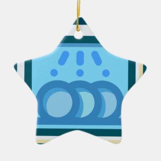 Dishwasher Ceramic Ornament