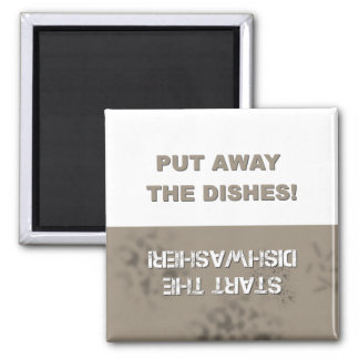 Dishwasher Clean Dirty Fridge Magnet