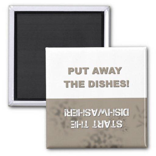 Dishwasher Clean/Dirty Fridge Magnet