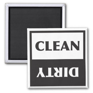 Dishwasher Clean or Dirty Sign Magnet