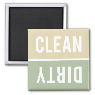 Dishwasher Magnet CLEAN | DIRTY - Vanilla & Sage