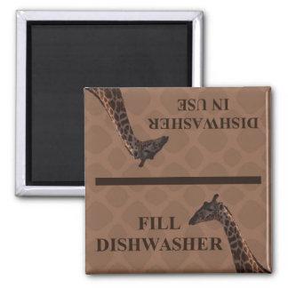 Dishwasher Magnet - Giraffe