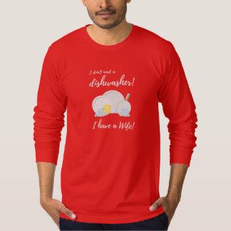 Dishwasher Women Funny Zv6ru T-Shirt