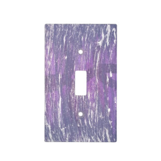 Disillusioned Decor | Purple Grape Plum Silver | Light Switch Cover
