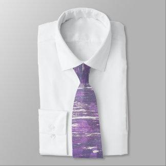 Disillusioned Style | Plum Purple Fuchsia Silver | Tie