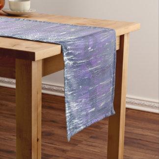 Disillusioned Table | Unique Purple Plum Silver Medium Table Runner