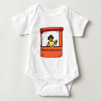 DISINFORMATION BABY BODYSUIT