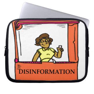 DISINFORMATION LAPTOP SLEEVE