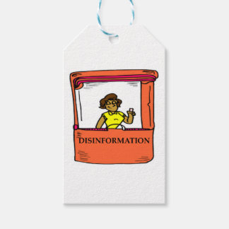 DISINFORMATION PACK OF GIFT TAGS
