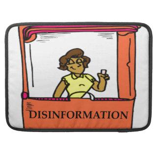 DISINFORMATION SLEEVE FOR MacBooks