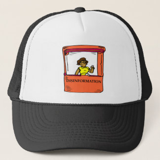 DISINFORMATION TRUCKER HAT