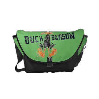 "Disintegrated DAFFY DUCK™ ""Duck Season"" Commuter Bag"