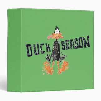 "Disintegrated DAFFY DUCK™ ""Duck Season"" Vinyl Binders"