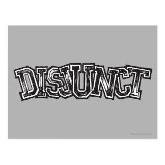 Disjunct Postcard