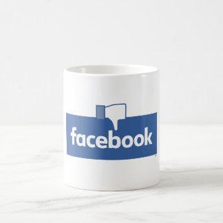 Dislike Facebook Coffee Mug