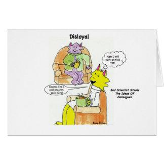 Disloyal: Bad Scientist Card
