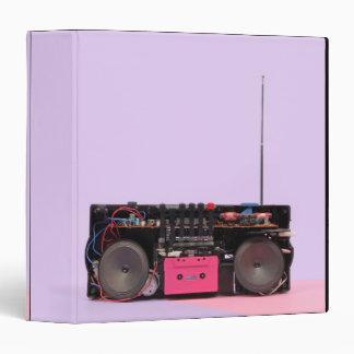 Dismantled Portable Stereo Vinyl Binder