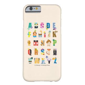 Disney Alphabet Mania Barely There iPhone 6 Case