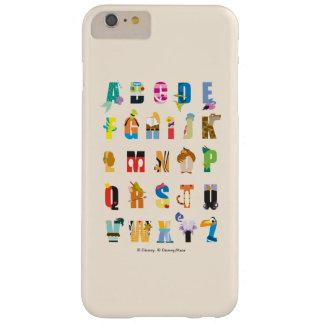 Disney Alphabet Mania Barely There iPhone 6 Plus Case