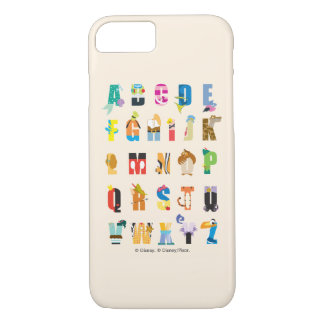 Disney Alphabet Mania iPhone 8/7 Case