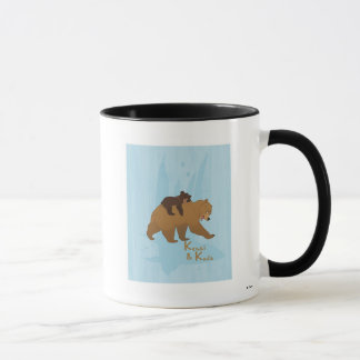 Disney Brother Bear Kenai and Koda Walking Mug