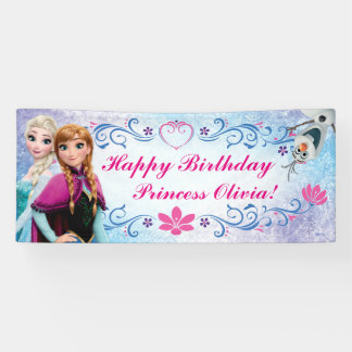 Disney Frozen Birthday Banner