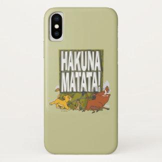 Disney Lion King Hakuna Matata! iPhone X Case