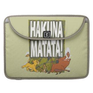 Disney Lion King Hakuna Matata! Sleeve For MacBook Pro