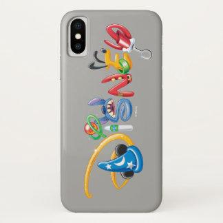 Disney Logo | Boy Characters iPhone X Case