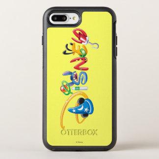 Disney Logo   Boy Characters OtterBox Symmetry iPhone 7 Plus Case