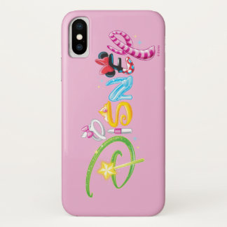 Disney Logo | Girl Characters iPhone X Case