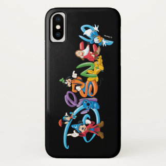 Disney Logo | Mickey and Friends iPhone X Case