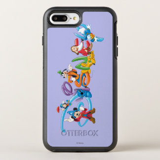 Disney Logo   Mickey and Friends OtterBox Symmetry iPhone 7 Plus Case