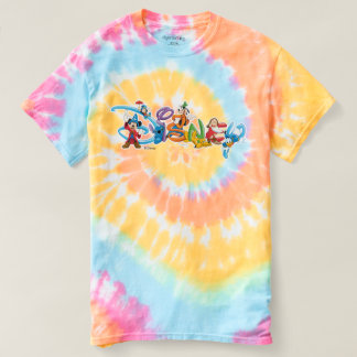 Disney Logo | Mickey and Friends Tie-Dye T-shirt