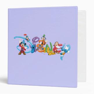 Disney Logo | Mickey and Friends Vinyl Binder