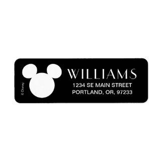 Disney Logo | White Mickey Icon